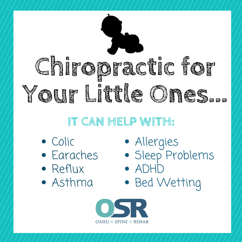 Chiropractic for Your Little Ones...