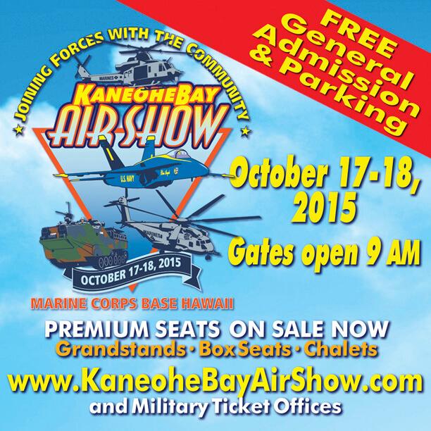 Kaneohe bay air show