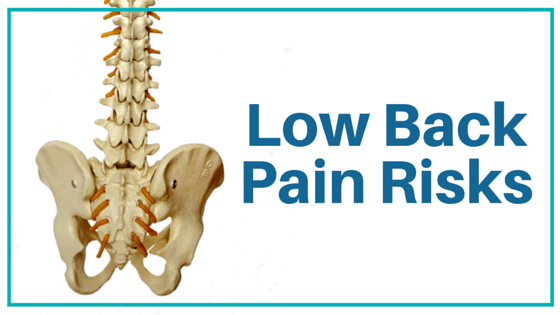 Low Back Pain Risks