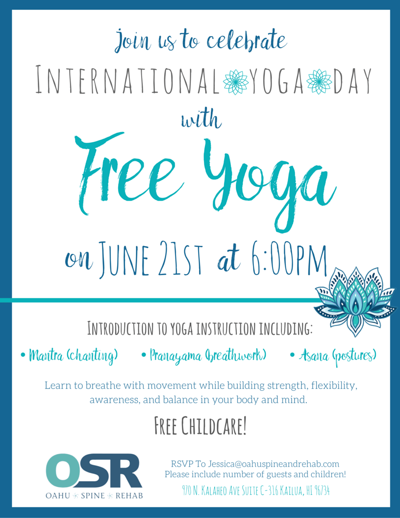 international yoga day kailua