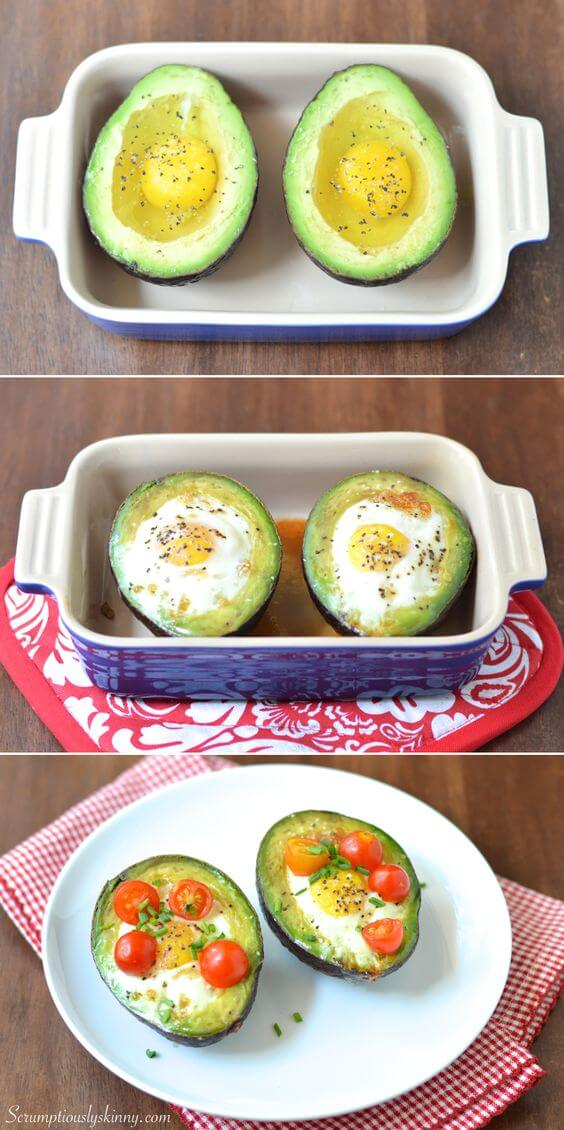 avocado breakfast