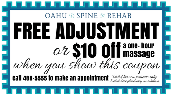 chiropractic adjustment kailua