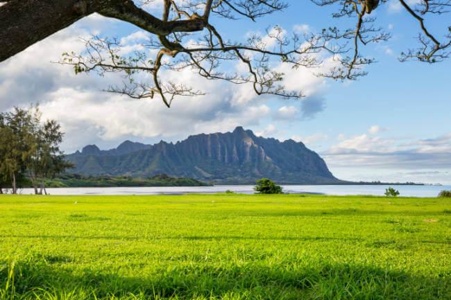 Located Oahu Hawaii