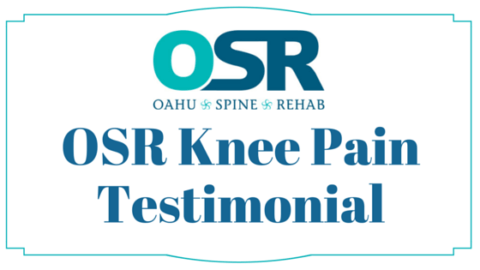 Knee therapy patient testimonial